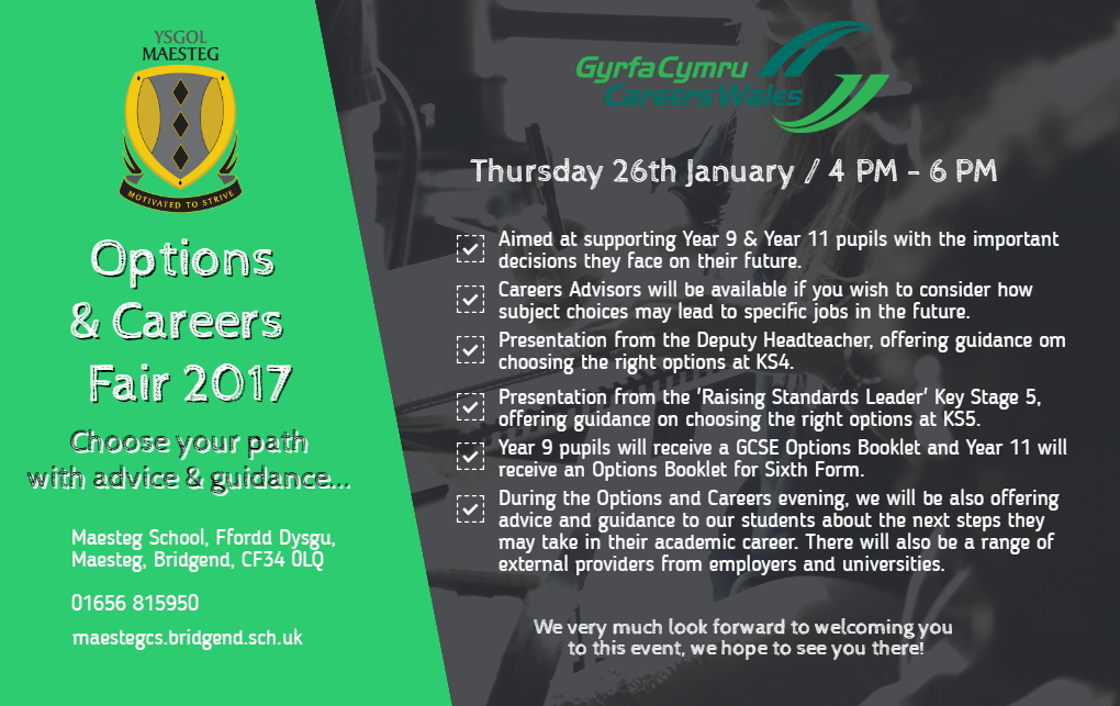 Options & Careers Fair 201