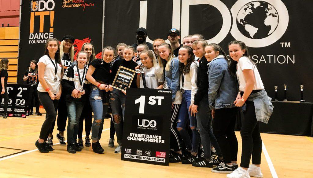 Dance Troupe Champions!