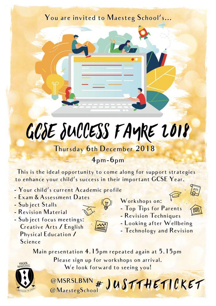 GCSE Success Fayre